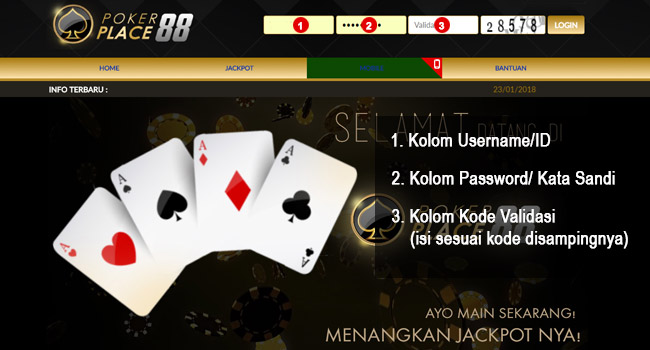 Halaman Pokerplace88